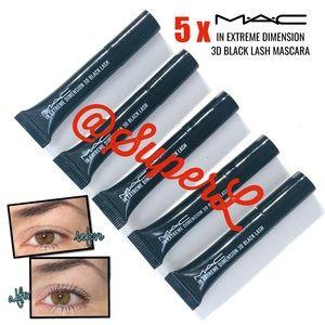 5 MAC Cosmetics In extreme dimension Lash Mascara
